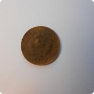 Две монеты 1851 и 1934 года.