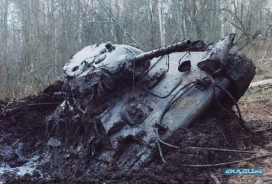 Как находили танки второй мировой войны