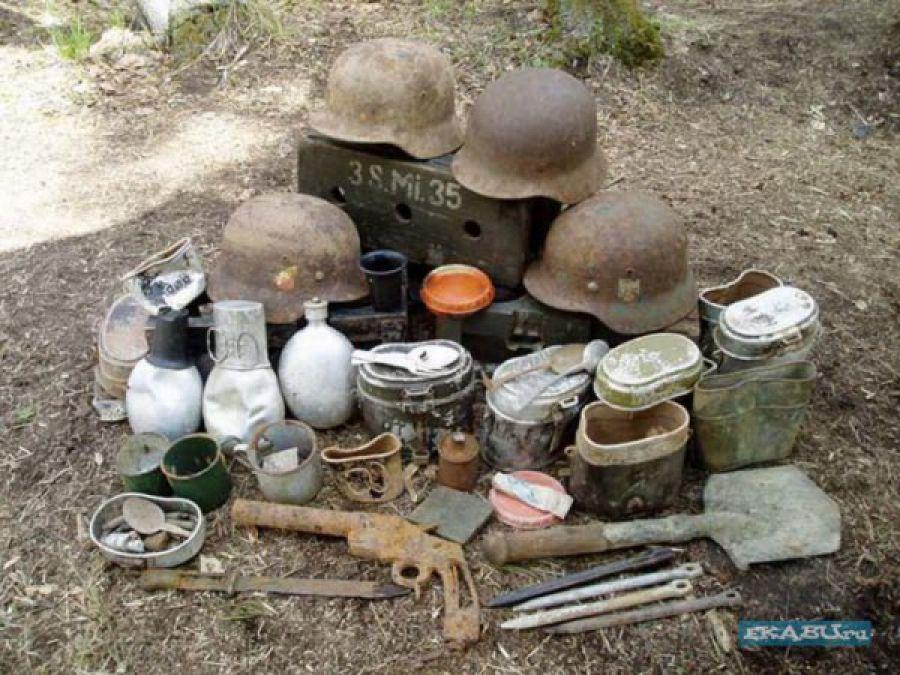 Военные находки