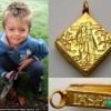 Трёхлетний мальчик нашел клад ценой в 2,5 миллиона фунтов